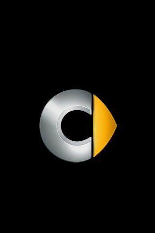 Smart Logo iPhone Wallpaper