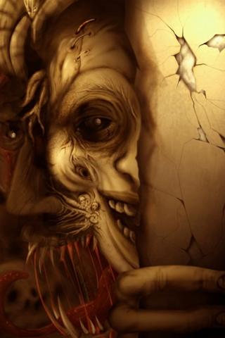 Creeper iPhone Wallpaper