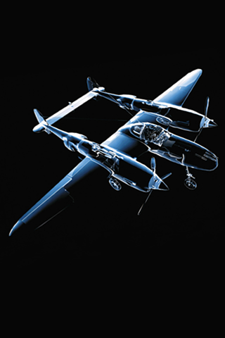 Lockheed P-38 Lightning iPhone Wallpaper