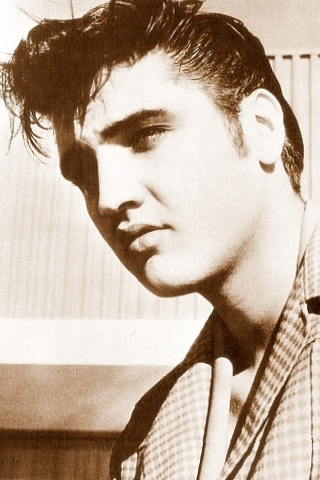 Elvis iPhone Wallpaper