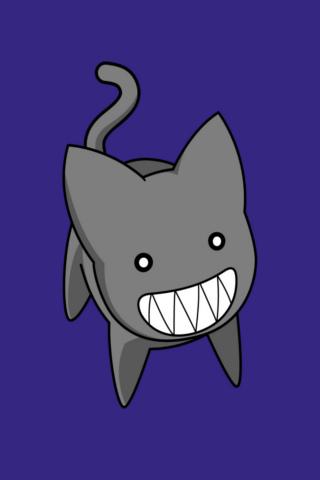 Azumanga Cat iPhone Wallpaper