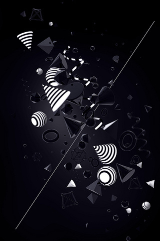 Shape Abstract IPhone Wallpaper