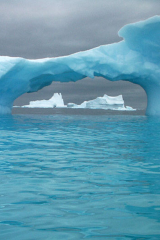 Ice Bridge iPhone Wallpaper
