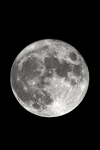 Full Moon iPhone Wallpaper | iDesign iPhone Red Moon Iphone Wallpaper