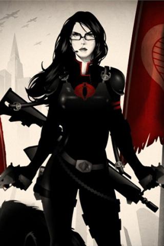 Baroness G.I. Joe iPhone Wallpaper