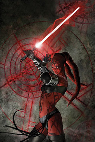 Darth Talon iPhone Wallpaper
