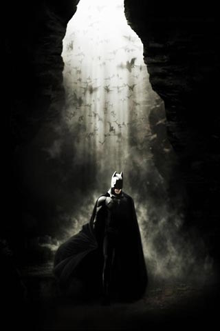 The Dark Knight iPhone Wallpaper