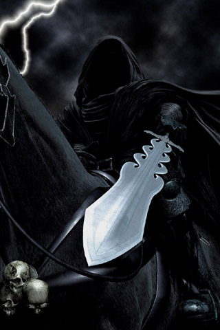 Ring Wraith iPhone Wallpaper