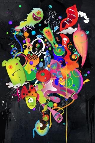 Ultraviolet iPhone Wallpaper