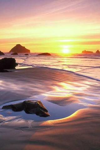 Low Tide iPhone Wallpaper