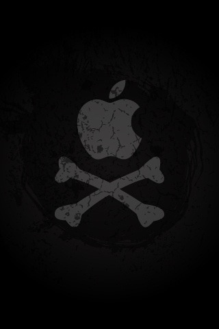 Pirated Apple iPhone Wallpaper