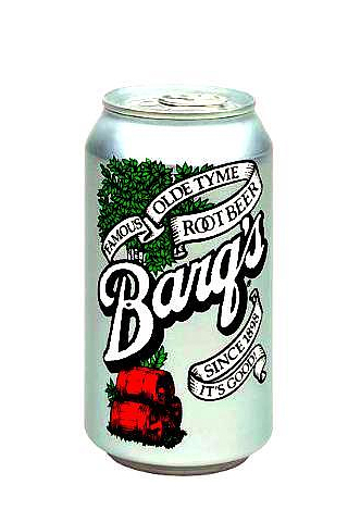 Barq's Root Beer Pop Can iPhone Wallpaper