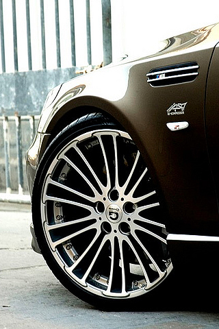 BMW M5 Rims iPhone Wallpaper