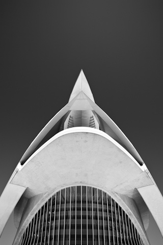 Queen Sofia Palace of the Arts iPhone Wallpaper