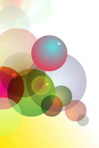 Bubbles iPhone Wallpaper