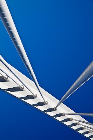 Suspension Bridge iPhone Wallpaper