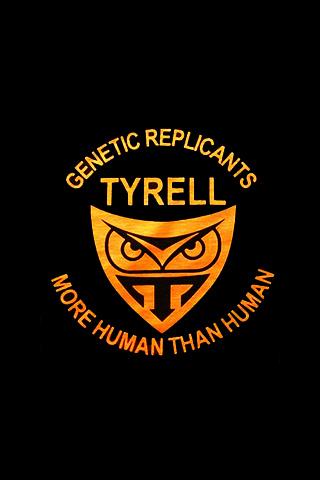 Tyrell Corporation Logo iPhone Wallpaper