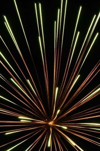 Fireworks iPhone Wallpaper