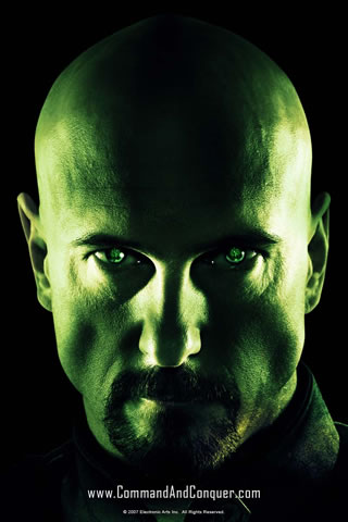 Command & Conquer - Kane iPhone Wallpaper