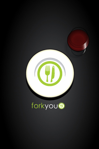 Fork You Logo iPhone Wallpaper