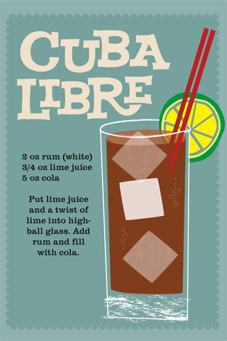 Cuba Libre iPhone Wallpaper