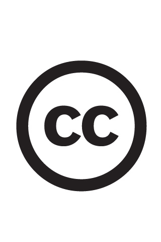 Creative Commons Logo iPhone Wallpaper