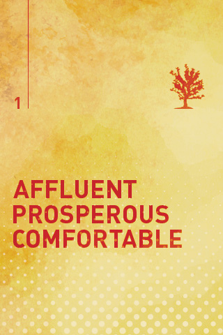Affluent Prosperous Comfortable iPhone Wallpaper