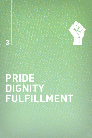 Pride Dignity Fulfillment iPhone Wallpaper