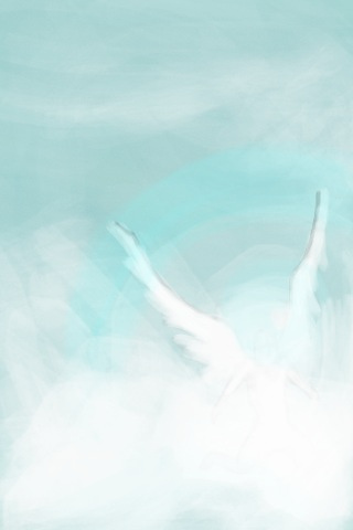 Angelic Wings iPhone Wallpaper