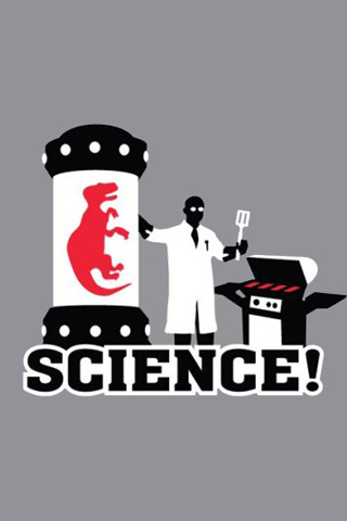 Science! - The other red meat iPhone Wallpaper