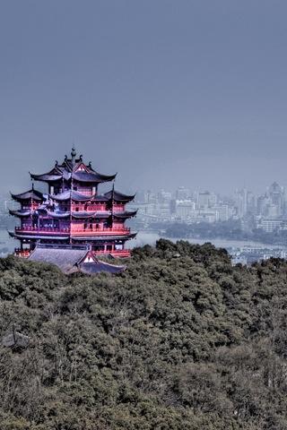Concept Shaolin Temple iPhone Wallpaper