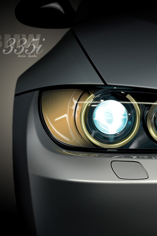 BMW 335i iPhone Wallpaper
