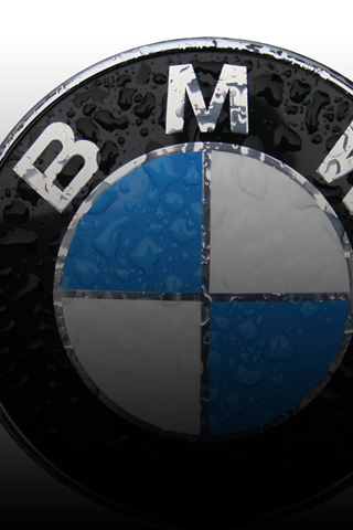 BMW Wet Label iPhone Wallpaper