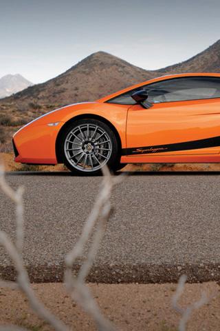 Lamborghini Gallardo Superleggera iPhone Wallpaper