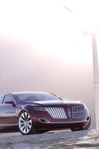 Lincoln MKR Concept iPhone Wallpaper
