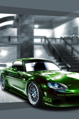 Mazda Miata Mx5 Iphone Wallpaper Idesign Iphone