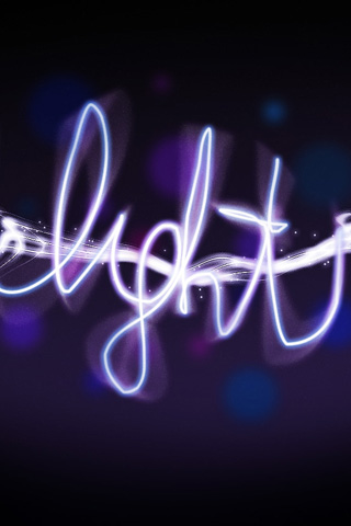 Light Abstract iPhone Wallpaper
