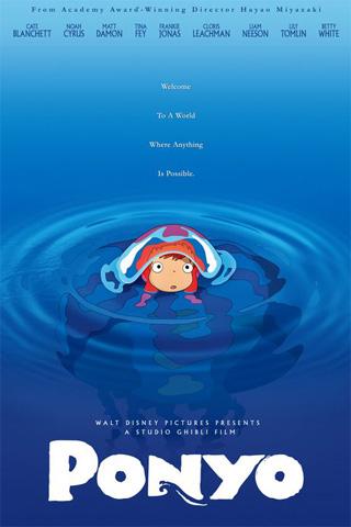 Ponyo - Walt Disney iPhone Wallpaper