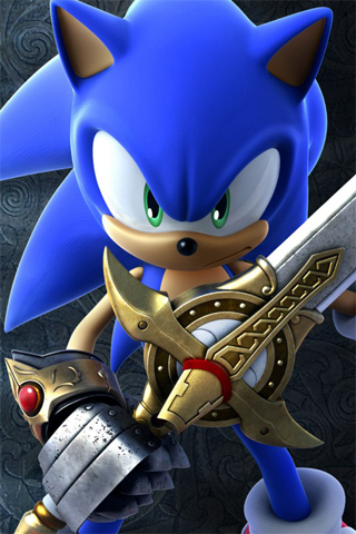 sonic � the black knight iphone wallpaper idesign iphone