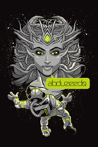 Abduzeedo Graphic Design iPhone Wallpaper