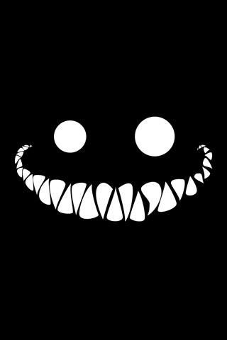 Big Evil Grin iPhone Wallpaper