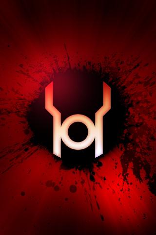 Red lantern logo wallpaper - photo#48