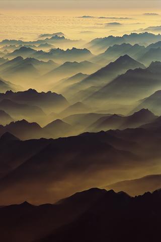 Swiss Alps iPhone Wallpaper