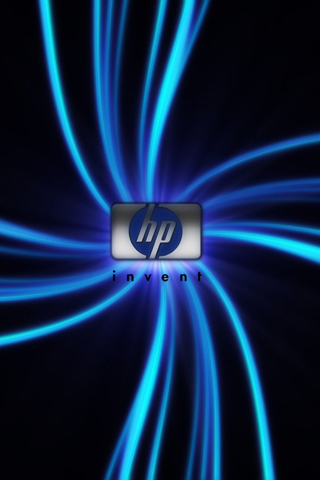 wallpaper hp. HP Logo iPhone Wallpaper