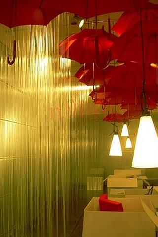 Indoor Rain iPhone Wallpaper