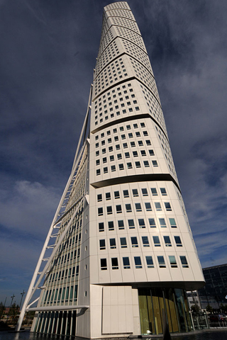 Turning Torso - Sweden iPhone Wallpaper