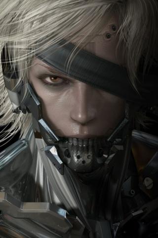 Metal Gear Solid Rising iPhone Wallpaper