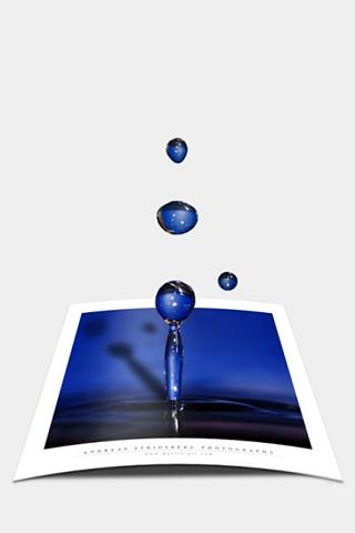 Water Droplet iPhone Wallpaper