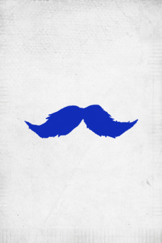 blue mustache iphone wallpaper tweet abstract blue mustache wallpaperBlue Mustache Wallpaper