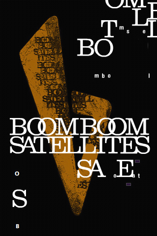 Boom Boom Satellites iPhone Wallpaper